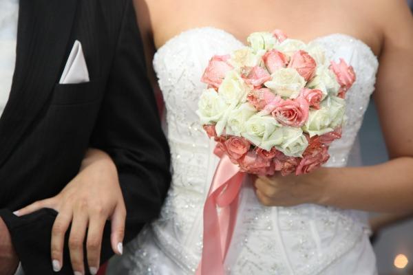 Einzug in den Hochzeitssaal